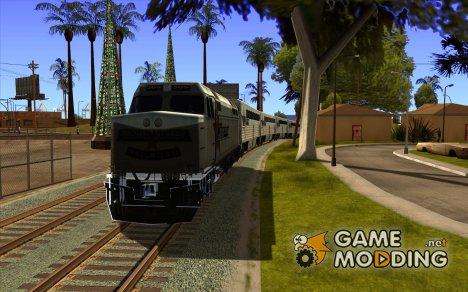 Длинные поезда для GTA San Andreas