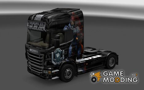 Скин Krogan для Scania R for Euro Truck Simulator 2