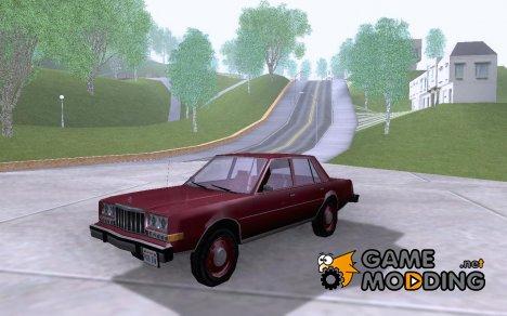 Dodge Diplomat 1985 v.1.01 for GTA San Andreas