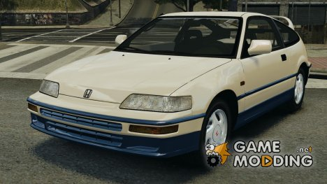 Honda CR-X SiR 1991 для GTA 4