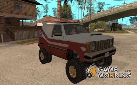 Sandking 4x4 Off Road Tuning для GTA San Andreas