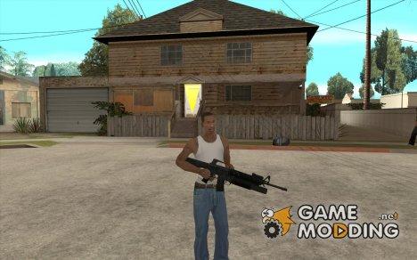 M16 с подствольным гранатомётом M203 for GTA San Andreas