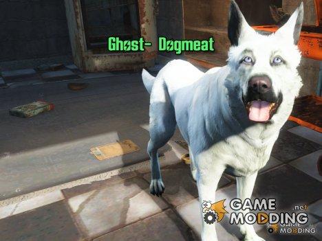 Белая собака «Призрак» для Fallout 4