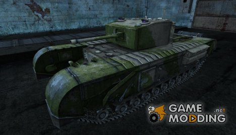 Шкурка для Черчилль for World of Tanks