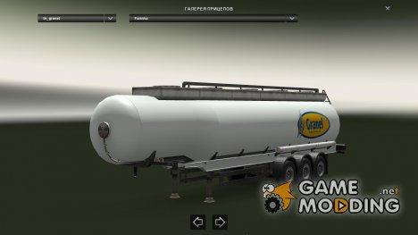 Granel Cistern for Euro Truck Simulator 2