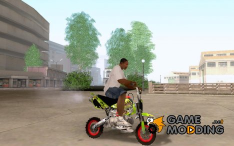 Kawasaki 50cc Pocket Factory Bike для GTA San Andreas