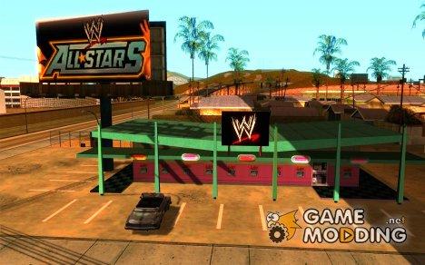 Новый магазин WWE for GTA San Andreas
