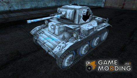 Шкурка для Tetrarch Mk.VII Anime for World of Tanks