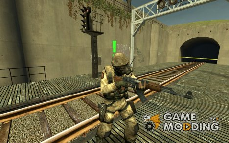 Slappy_991's British Desert & DPM Camo SAS для Counter-Strike Source