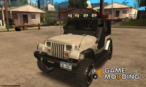 Jeep Wrangler Трофи 1986 for GTA San Andreas
