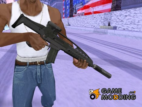XM8 с глушителем v2 for GTA San Andreas