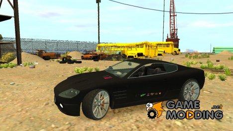 Ocelot F620 Racer из GTA 5 for GTA 4