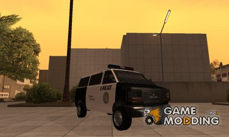 Police Transporter GTA V for GTA San Andreas