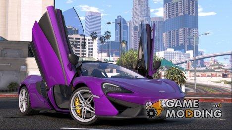 2015 Mclaren 570S for GTA 5