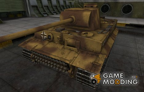 Немецкий скин для PzKpfw VI Tiger for World of Tanks