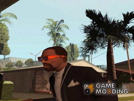 Модные очки для CJ для GTA San Andreas