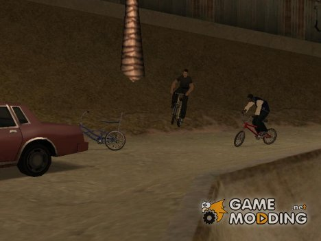 BMX байкеры for GTA San Andreas