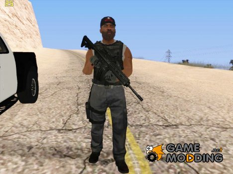 Военная Анимация для GTA San Andreas