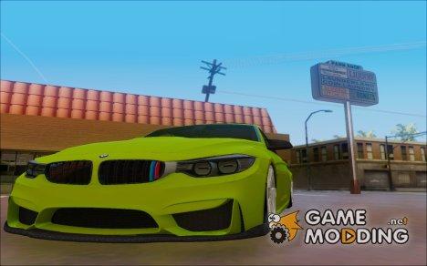 BMW M3 F30 Hulk для GTA San Andreas