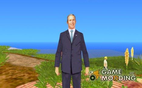 Джорж Буш Младший для GTA San Andreas