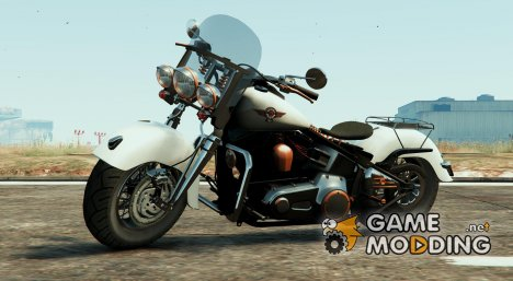 Harley Davidson Fat Boy Lo Vintage 1.1 for GTA 5