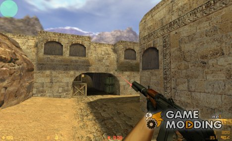AKS-74U R1 для Counter-Strike 1.6