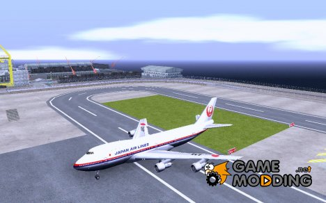 Boeing 747-100 Japan Airlines for GTA San Andreas