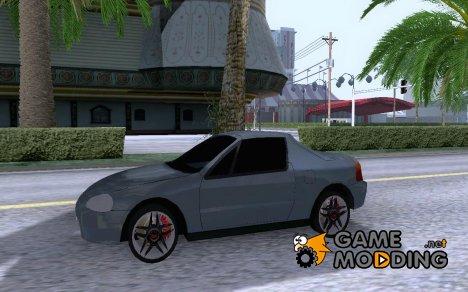 Honda Del Sol для GTA San Andreas