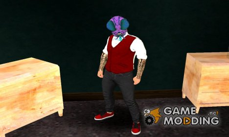 Skin Haloween DLC v2 Halloween GTA V для GTA San Andreas