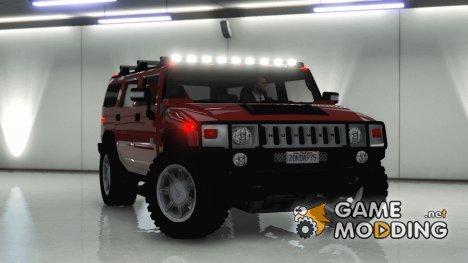 Hummer H2 FINAL 2 для GTA 5