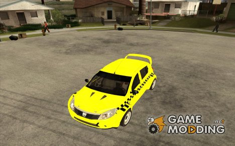 Dacia Sandero Speed Taxi for GTA San Andreas