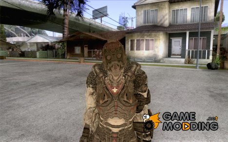Локаст Grunt из Gears of War 2 for GTA San Andreas