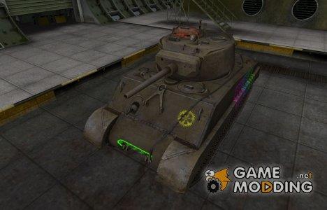 Качественные зоны пробития для M4A3E2 Sherman Jumbo for World of Tanks