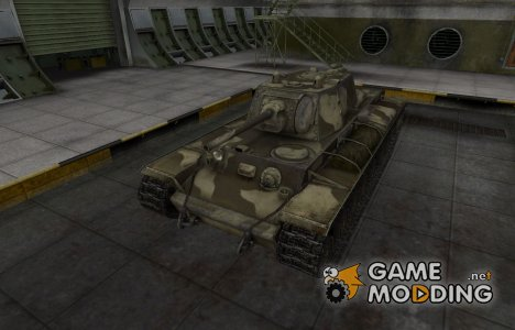 Пустынный скин для КВ-220 for World of Tanks