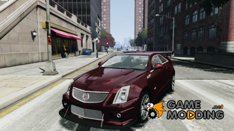 Cadillac CTS-V Coupe для GTA 4