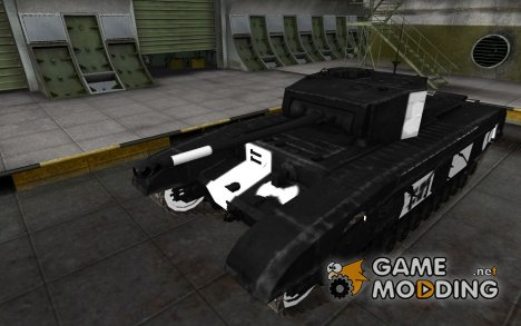 Зоны пробития Black Prince for World of Tanks
