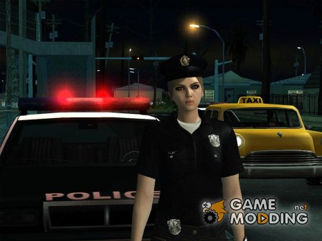 Female Police from GTA 5 for GTA San Andreas