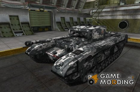 Шкурка для Black Prince для World of Tanks