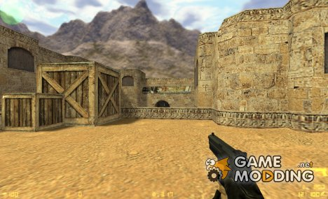 Black usp + shield для Counter-Strike 1.6