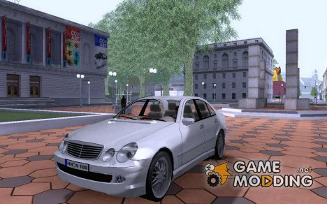 Mercedes-Benz V58 Vath (beta) для GTA San Andreas