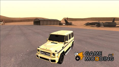 Mercedes-Benz G65 AMG Golden for GTA San Andreas