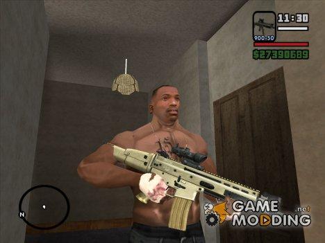 Забинтованные руки и новое тату for GTA San Andreas