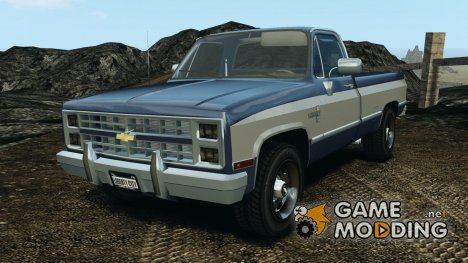 Chevrolet Silverado 1986 for GTA 4