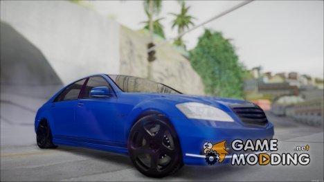 Mercedes Benz W221 for GTA San Andreas