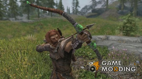 Insanitys Glass Bow for TES V Skyrim