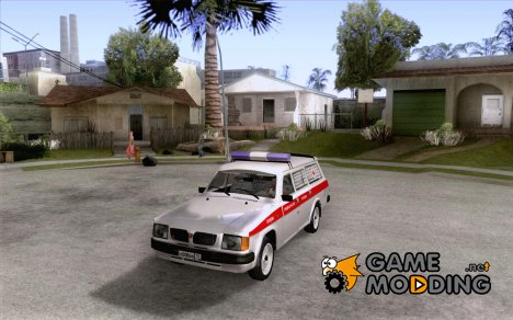 ГАЗ 310231 Скорая for GTA San Andreas