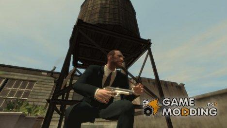 Пистолет Альберта Вескера for GTA 4