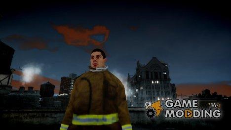 Пожарный (GTA 5) для GTA 4