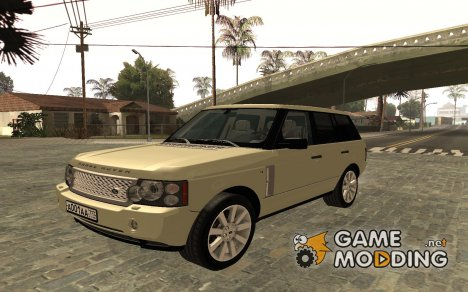 Land Rover Supercharged Stock 2010 для GTA San Andreas