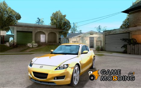 Mazda RX-8 Tuneable for GTA San Andreas